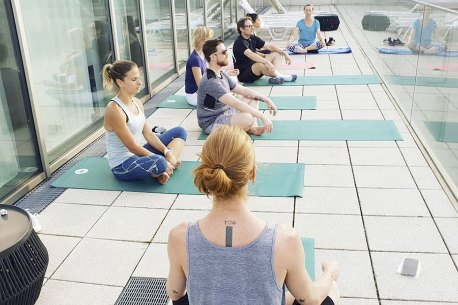 Tristyle Rooftop Yoga