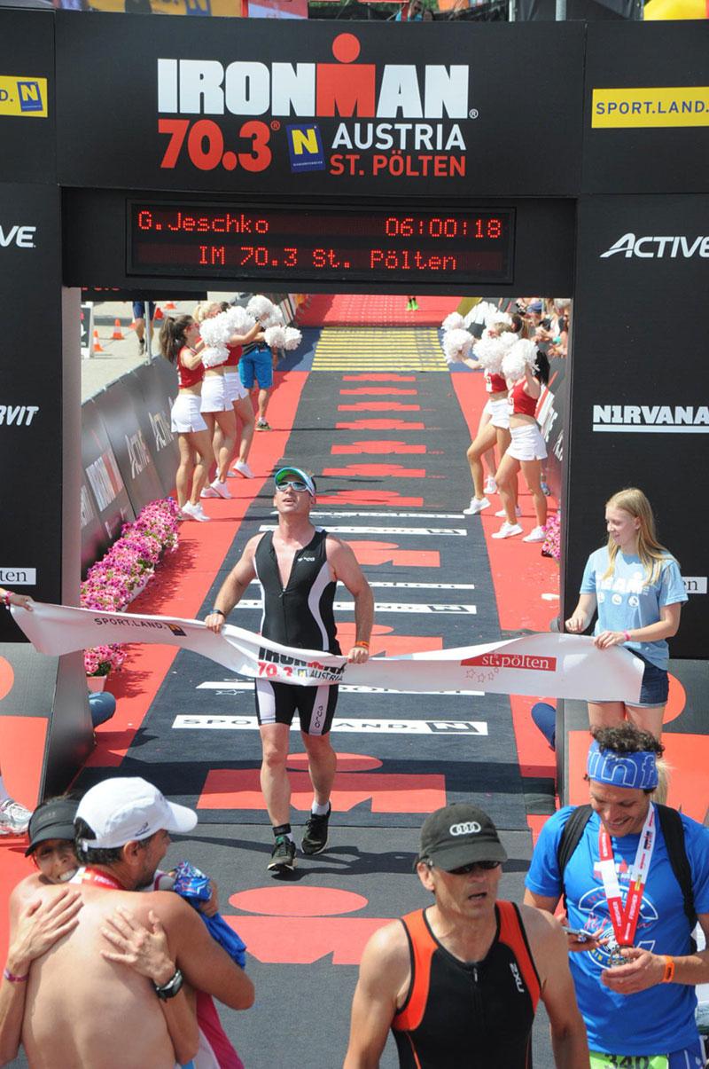 Ironman 70.3, St. Pölten, Georg Jeschko