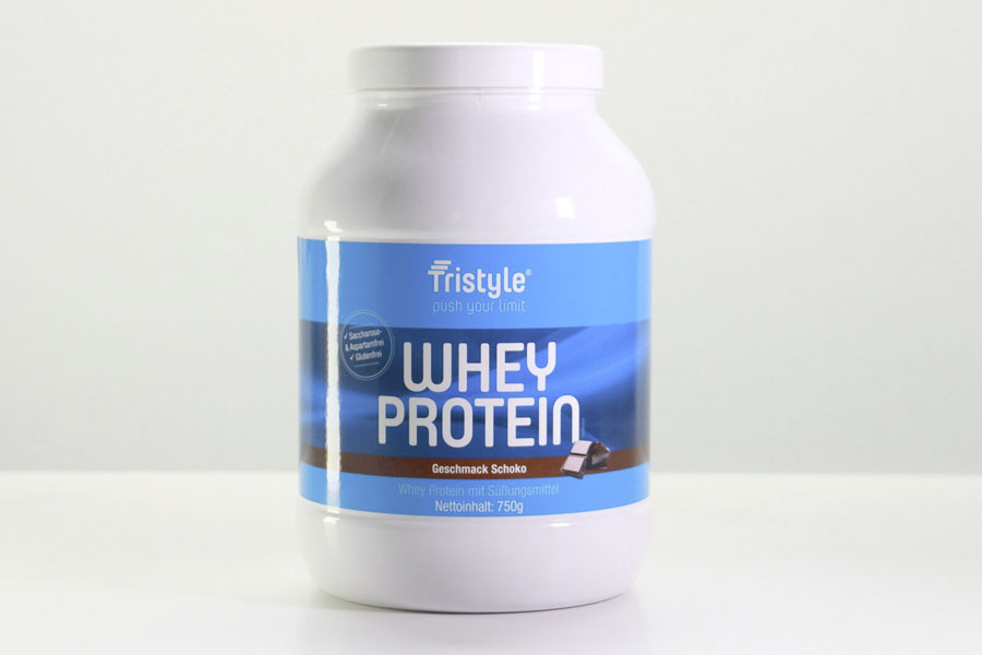 Tristyle Whey Protein, Schokogeschmack