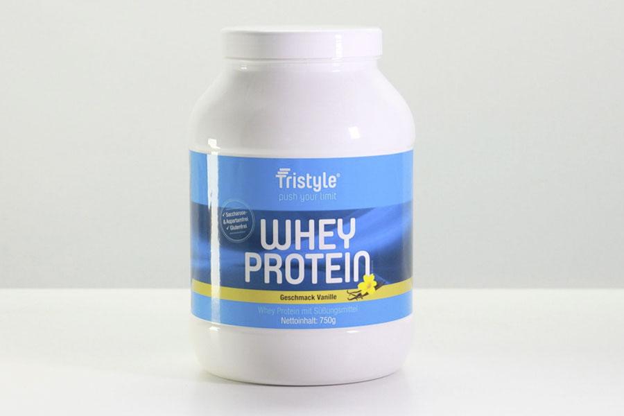 Tristyle Whey Protein, Vanillegeschmack
