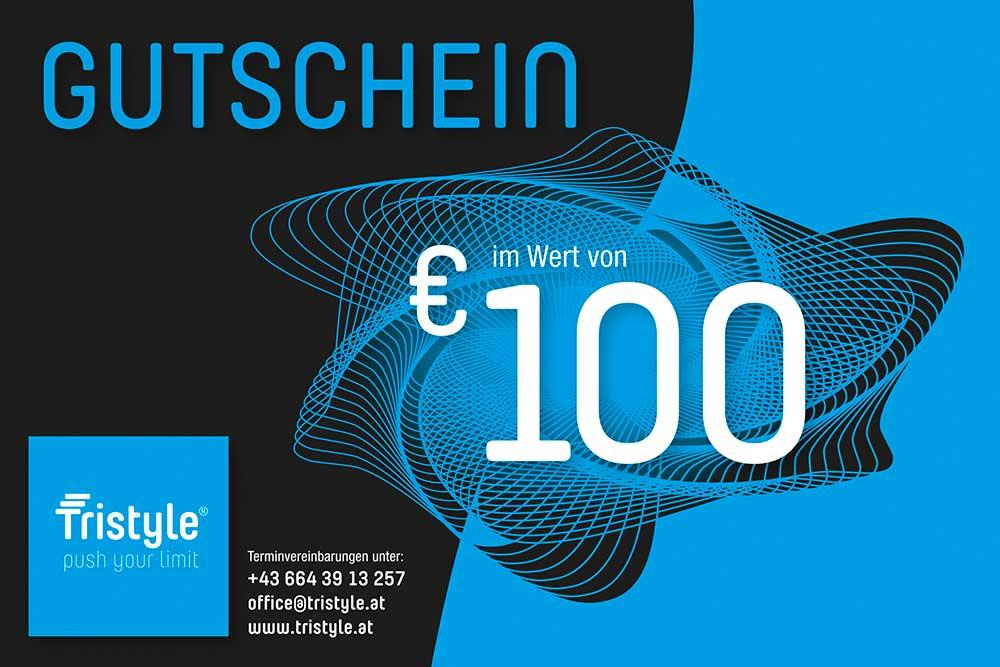 Tristyle Wertgutschein 100 Euro