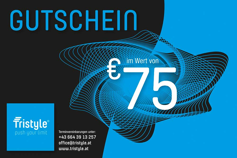 Tristyle Wertgutschein 75 Euro