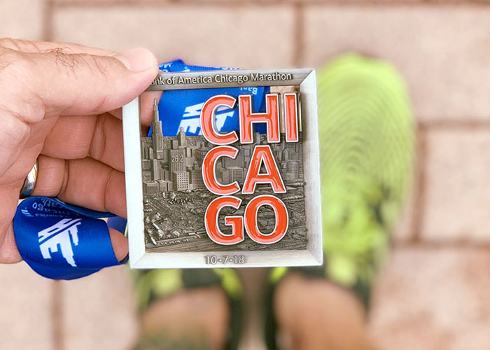 Jochen Gold, Chicago Marathon 2018