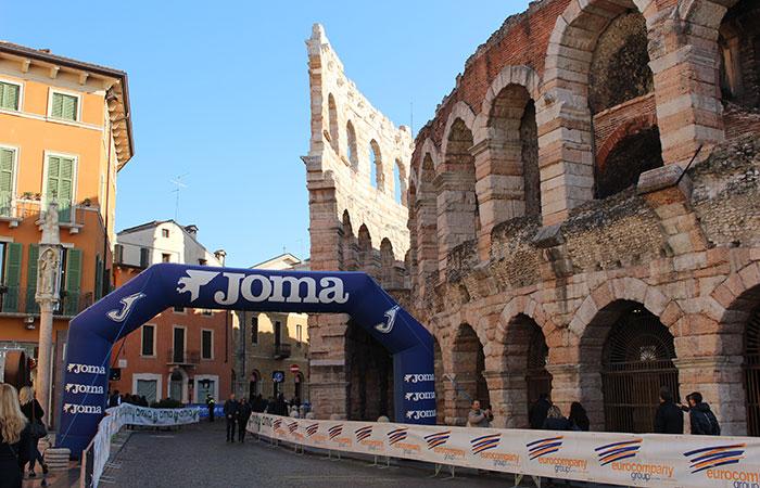 Adina Zimmermann, Verona Zero Wind Cangrande Halbmarathon