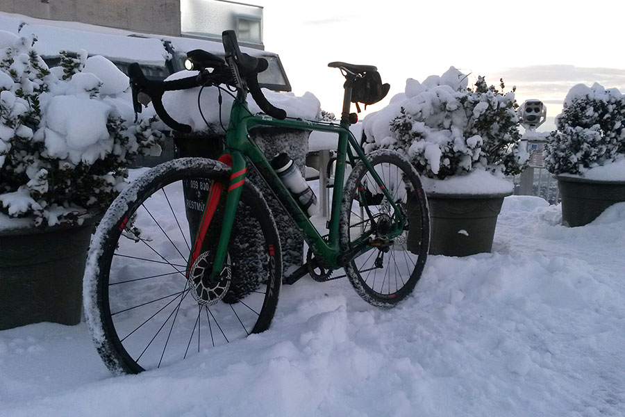 Robert Unger: Was macht der Radfahrer im Winter?