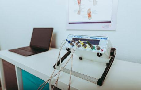 Tristyle Körperfettmessung BIA (Bioelektrische Impedanz Analyse)