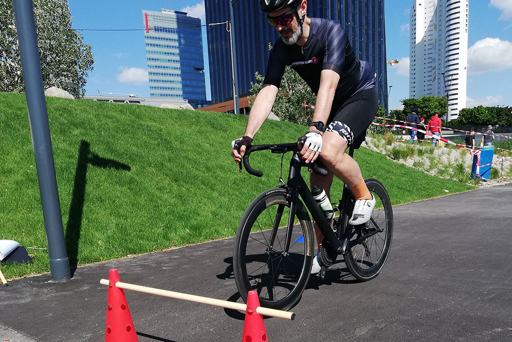 Tristyle Radtechnik-Gruppentraining