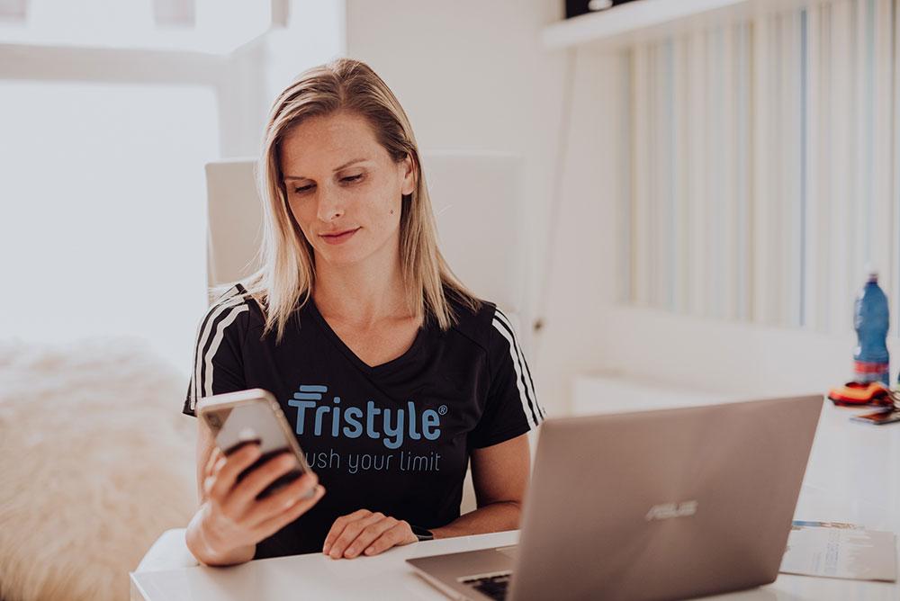 Trainieren mit der Tristyle App