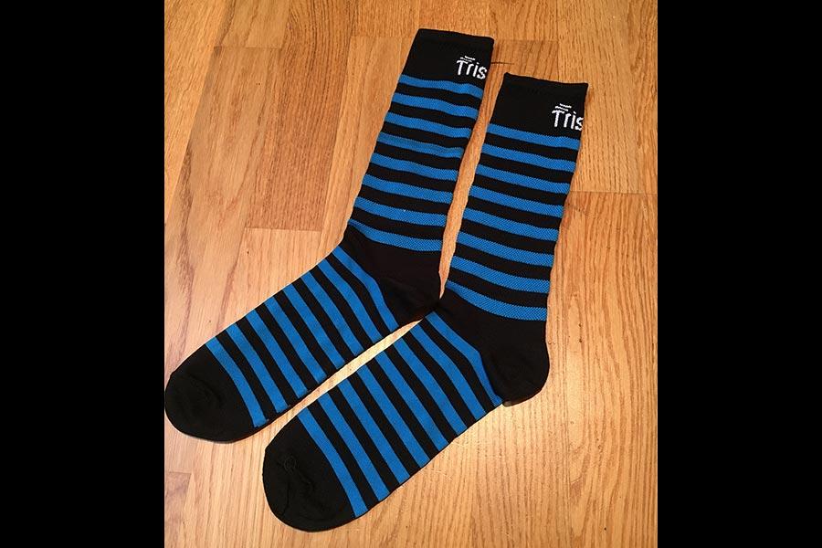 Tristyle Socken lang schwarz