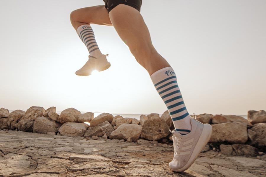 Tristyle Socken mittel