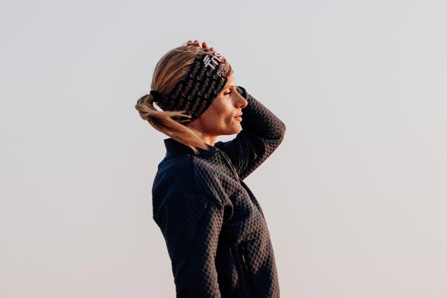 Tristyle Stirnband schwarz