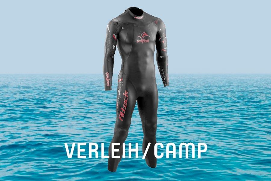 Neopren-Verleih für Tristyle Swim & Run Camp