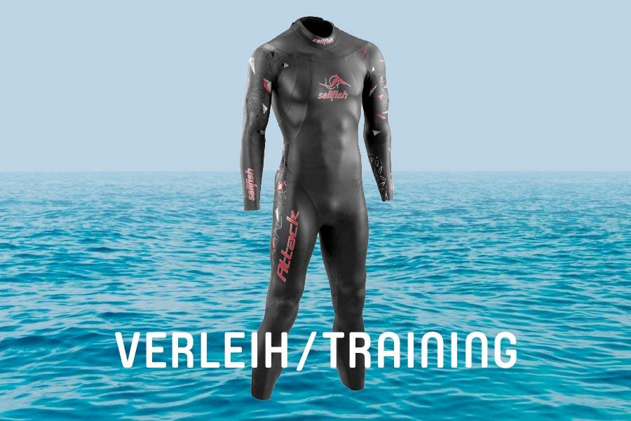 Neopren-Verleih für Tristyle Open Water Schwimmtraining