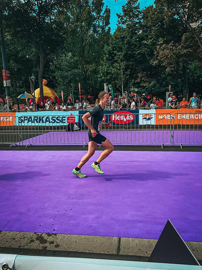 Ein Marathon mit vielen Höhen und Tiefen, Blogbeitrag von Andreas Hinnerth