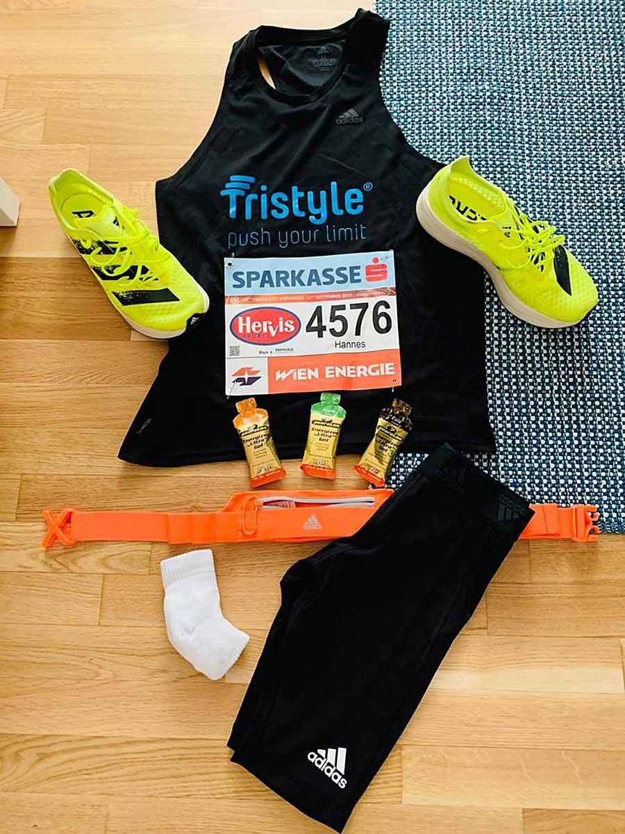 Hannes Schwarzinger, Vienna City Marathon 2021
