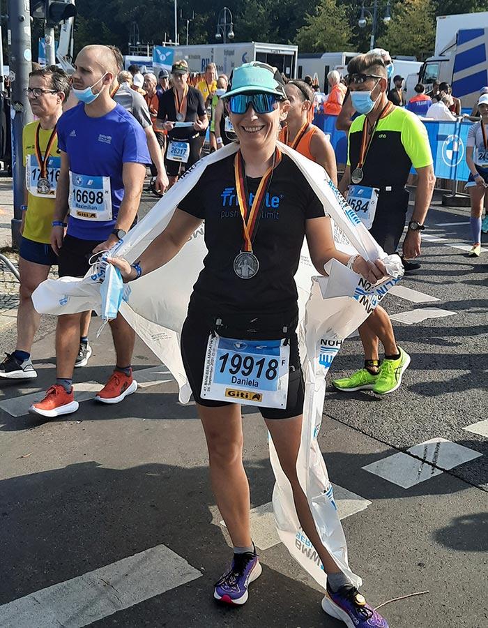 Berlin Marathon: Historisches Rennen dank einem Jahr Verspätung, Blogbeitrag von Daniela Haarmann